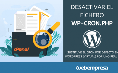 Desactivar el fichero wp-cron.php en WordPress