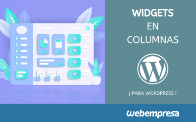 Widgets en columnas para WordPress