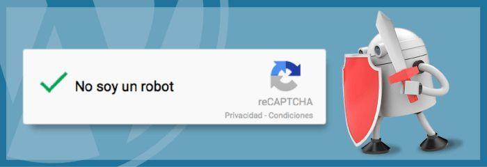 Protección Captcha WordPress