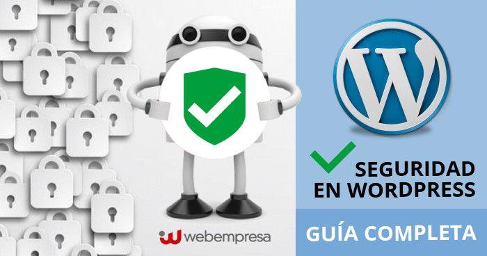Tutorial seguridad en WordPress Guía completa