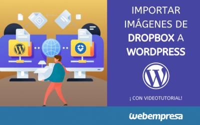 Importar imágenes de Dropbox a WordPress
