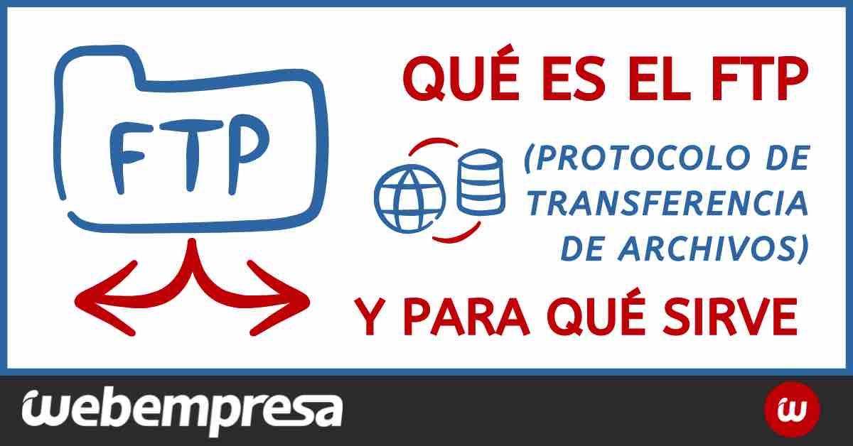 ¿Qué significa FTP?